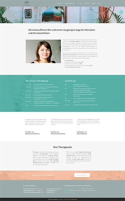 medfit Webdesign - Full-Service-Webagentur aus München für Webdesign, Suchmaschinenoptimierung (SEO) und Online Marketing - Kundenprojekt Praxis für Psychotherapie Elitza Tchipeva Screenshot 3